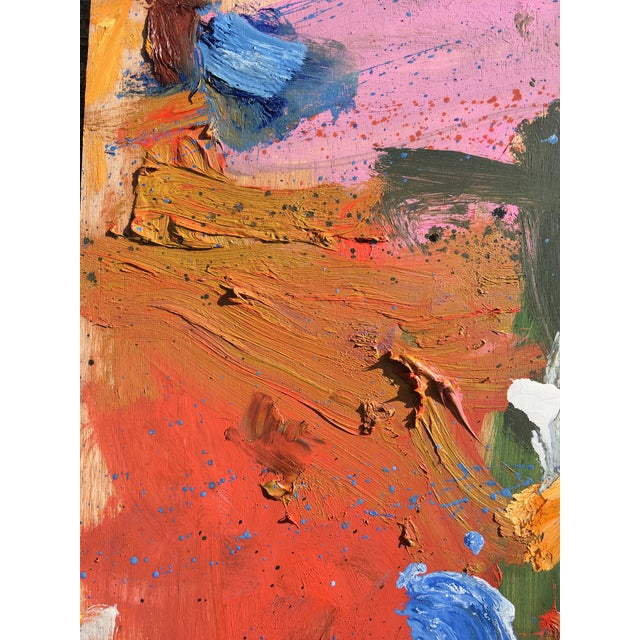 Sean Kratzert 'Standoff' Abstract Oil Painting by Sean Kratzert For Sale - Image 4 of 7