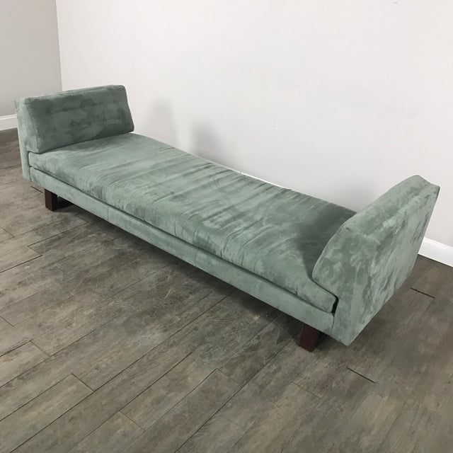 Room & Board Suede Studio Sofa - Image 3 of 9