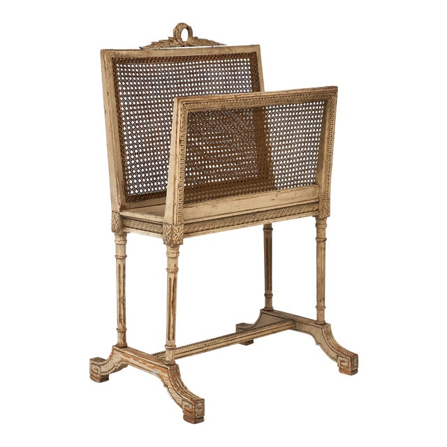 Vintage Louis XV Style Magazine Rack For Sale