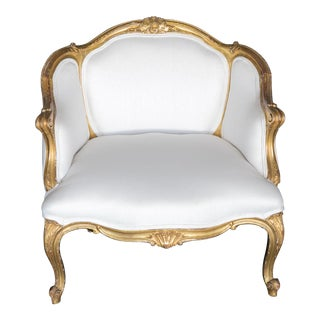 French Gilt Bergere - 18th Century