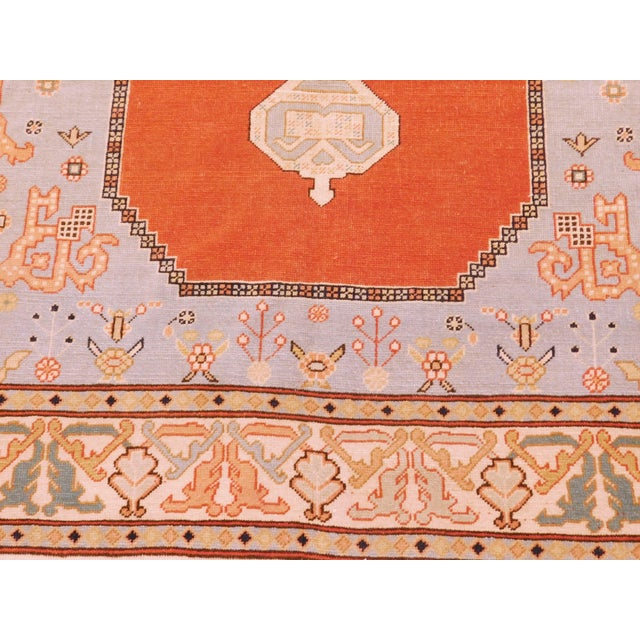 """Hand-Knotted Turkish Serapi Rug - 8'7""""x 12' For Sale - Image 9 of 12"""