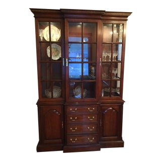 Century Furniture Traditional China Cabinet For Sale