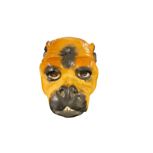 19th Century 19th Century English Pug Humidor For Sale - Image 5 of 5