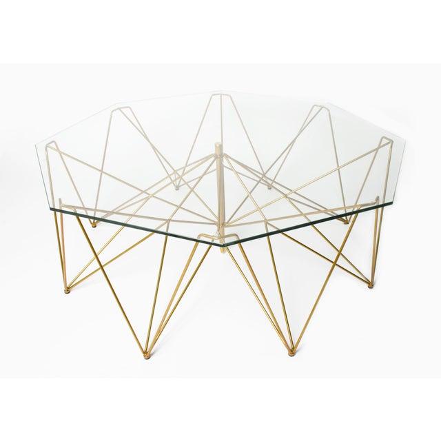 Sculptural Metal Coffee Table - Image 2 of 4