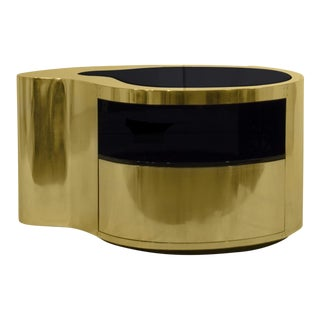 Covet Paris Wave Nightstand For Sale