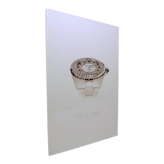 2000s Chanel's J12 and the Watch Collections Coffee Table Book For Sale