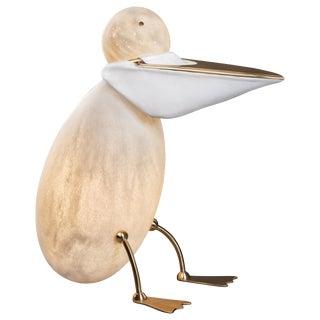 Pelican - Unique Floor Lamp Sculpture - Ludovic Clément d'Armont For Sale