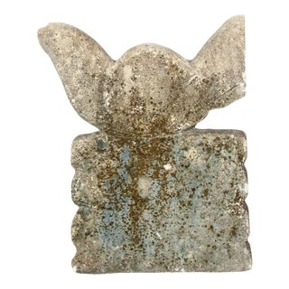 Vintage Indonesian Stone Dove For Sale
