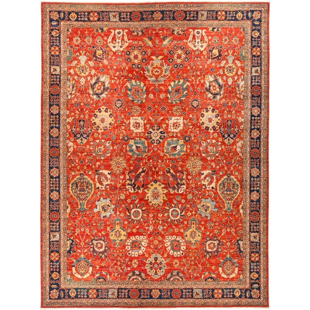 "Serapi Hand Knotted Area Rug - 12' 2"" X 15' 10"" - Image 4 of 4"