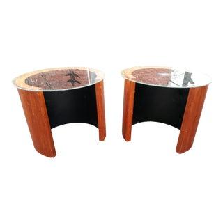 1960s R S Associates Teak End Tables - a Pair For Sale