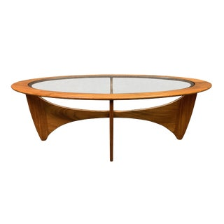 1960s Mid Century Modern G Plan Teak Astro Coffee Table For Sale