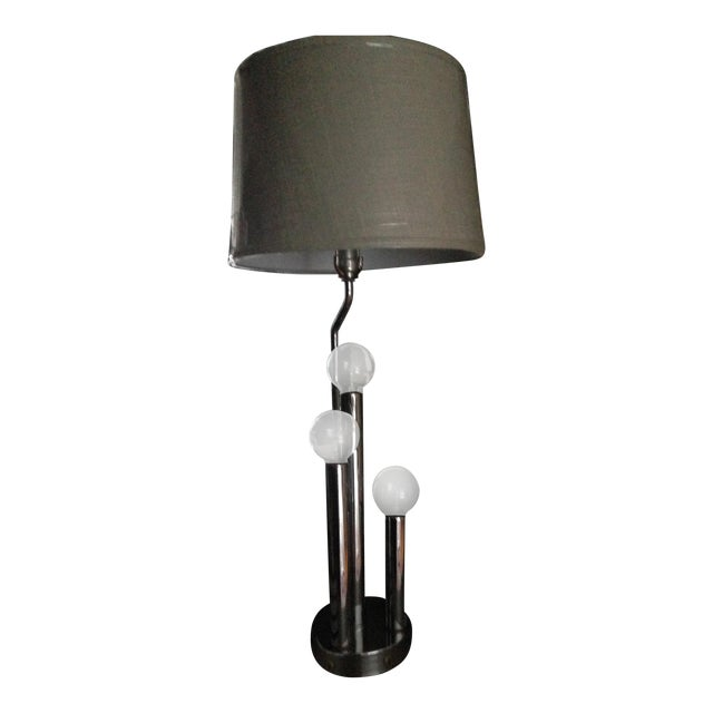Vintage Mid-Century Modern Chrome Table Lamp - Image 1 of 5