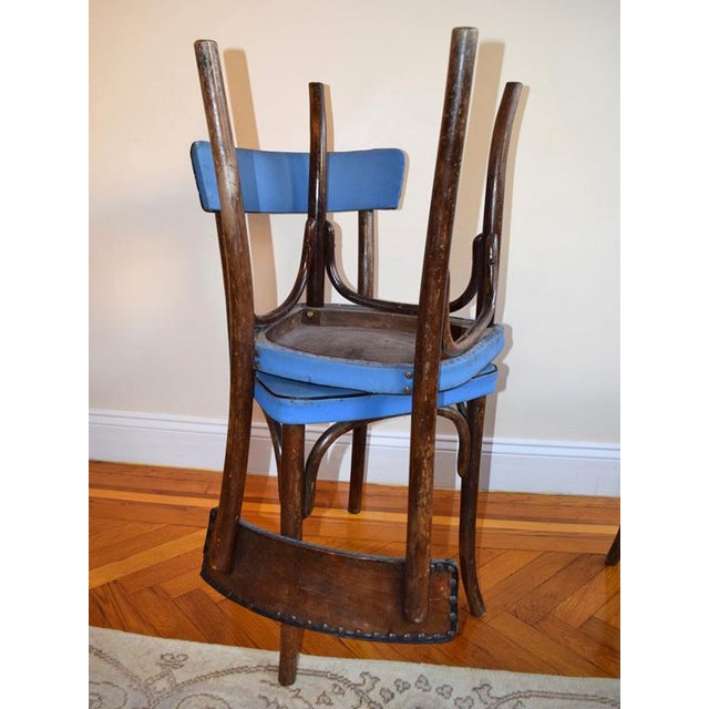 1950s 1950s Vintage Thonet Cafe Chairs- Set of 3 For Sale - Image 5 of 9