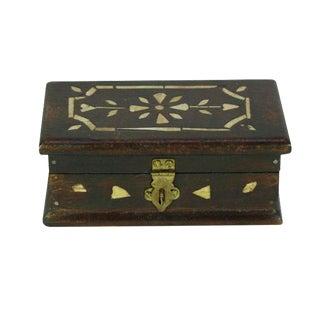Petite Bone Inlay Jewelry Box