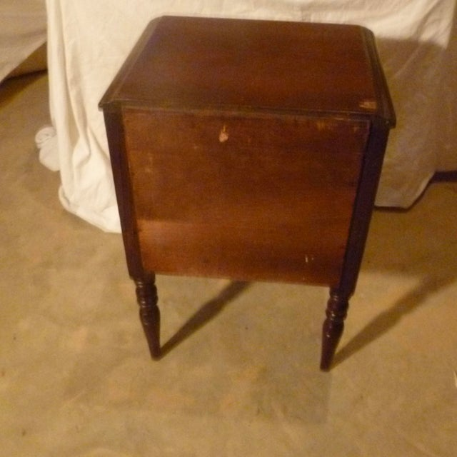 19th Century Italian Side Table With Storage Nightstand For Sale In Atlanta - Image 6 of 8