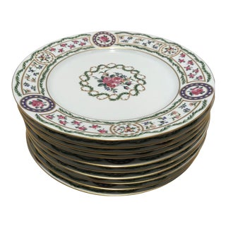 Haviland Limoges Louveciennes China Dinner Plates - Set of 10 For Sale