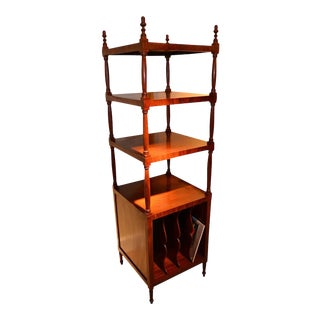 English Early 19th Century Sheraton Shelves For Sale