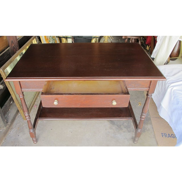 Antique Writing Desk - Image 3 of 8
