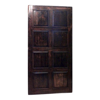 English Georgian Walnut Wall Panels For Sale