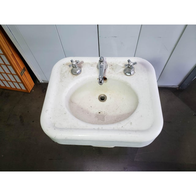 Cool Early 20Th Century Cast Iron Bathroom Sink Interior Design Ideas Gentotryabchikinfo