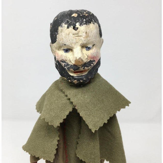 Mid 19th Century Antique French Marionette For Sale - Image 5 of 8