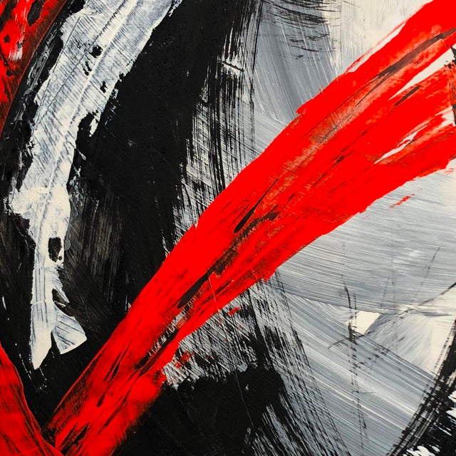 """2010s """"Image of a Moment"""" Original Abstract Mixed Media Artwork by Marko Kratohvil For Sale - Image 5 of 6"""