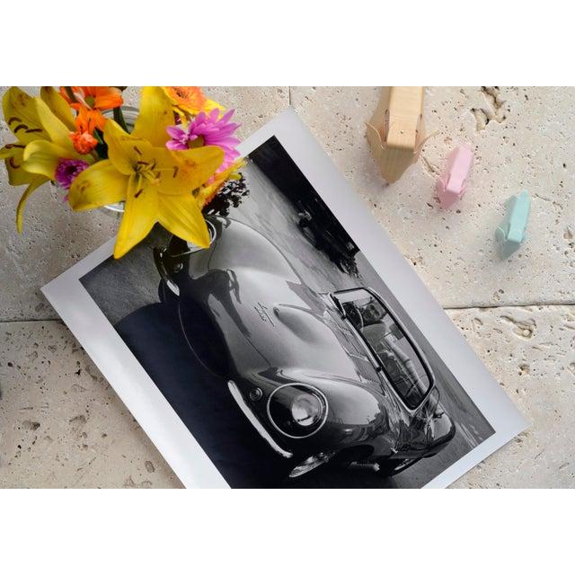Mid-Century Modern Steve McQueen in his 1957 XK SS Jaguar 1960 For Sale - Image 3 of 5