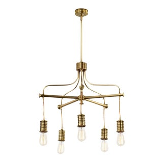 Douille 5-Light Chandelier For Sale