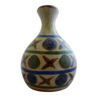 "Shane Gardner Studio Pottery ""Tic-Tac-Toe"" Vase For Sale"