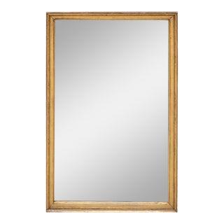 18th Century Louis XVI Giltwood Mirror For Sale
