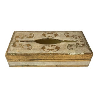 Italian Florentine Tissue Box Cover