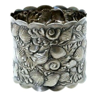 Late 19th Century Gorham Sterling Narragansett Style Pattern Napkin Ring #1850 For Sale