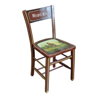 Vintage Woburn Golf Theme Chair For Sale