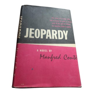 """1955 Mandred Conte """"Jeopardy"""" Book For Sale"""