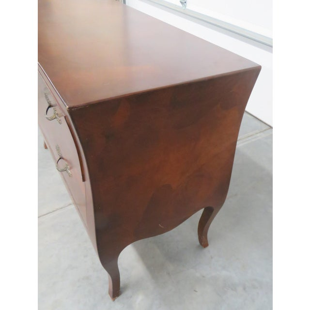 Wood Italian Louis XV Style Olivewood Commode For Sale - Image 7 of 10