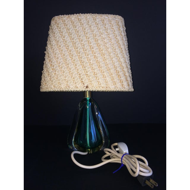 1950's Daum Cristal Table Lamp W/ Original Shade - Image 2 of 4