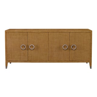 Century Furniture Charleston 4 Door Chest, Sand For Sale