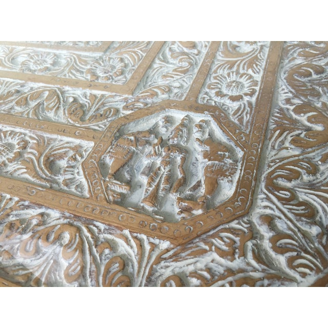 Hand-Carved Elephant Console Table - Image 11 of 11