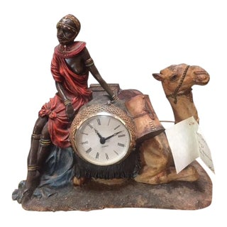 Vintage Camel Clock For Sale