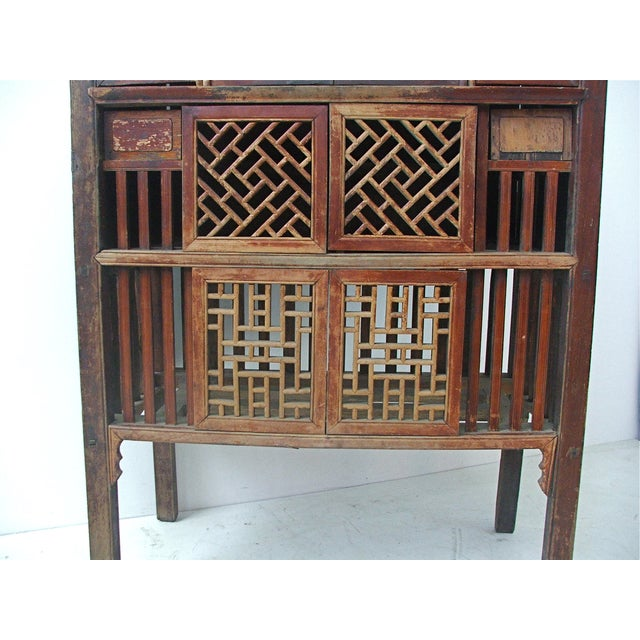 Antique Chinese Cabinet with Original Lacquer For Sale In Denver - Image 6  of 11 - Antique Chinese Cabinet With Original Lacquer Chairish