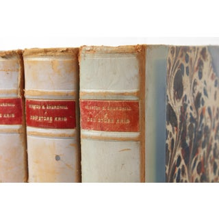 Scandinavian Leather-Bound Books S/5 Preview