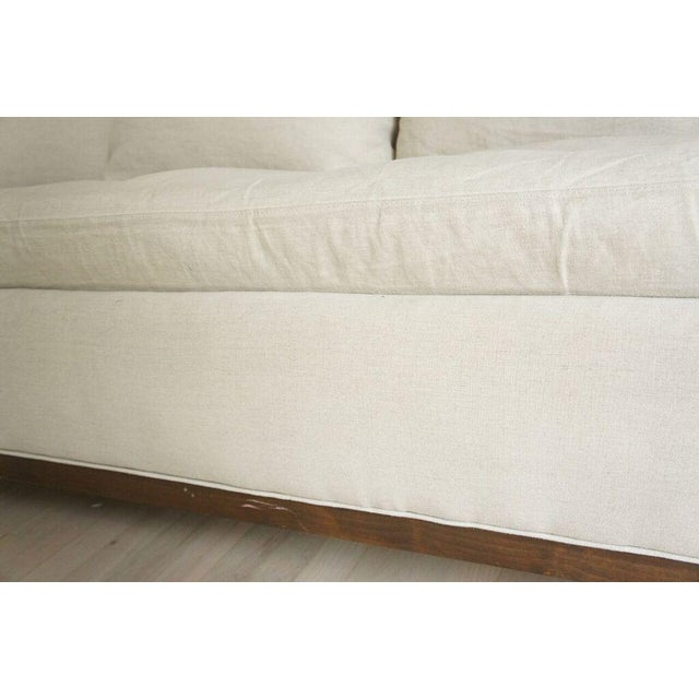 Cisco Home Flax Linen Sofa - Image 9 of 10