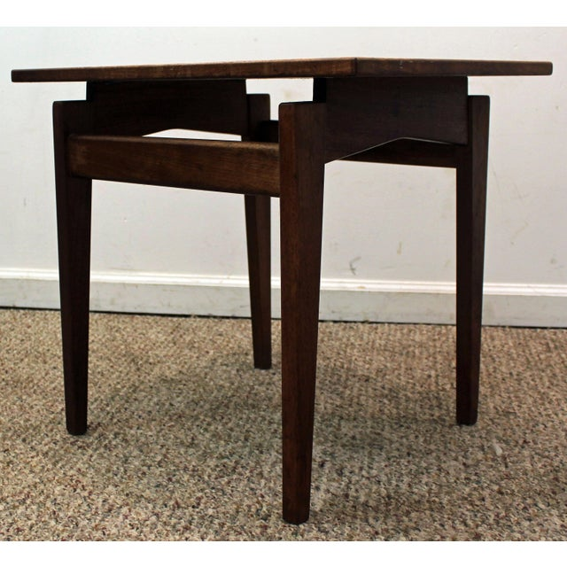 The seller says: The table has the great modern look to it. It is in great condition (minor marks/scratches, faded stain...