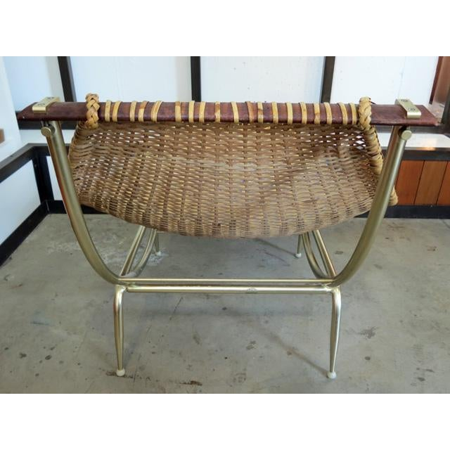 Boho Chic 1950s Vintage Troy Sunshade Lounge Chair For Sale - Image 3 of 7