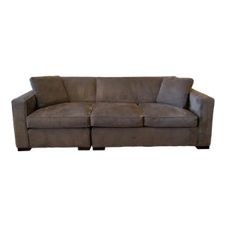 Room & Board Two Piece Ian Sectional For Sale