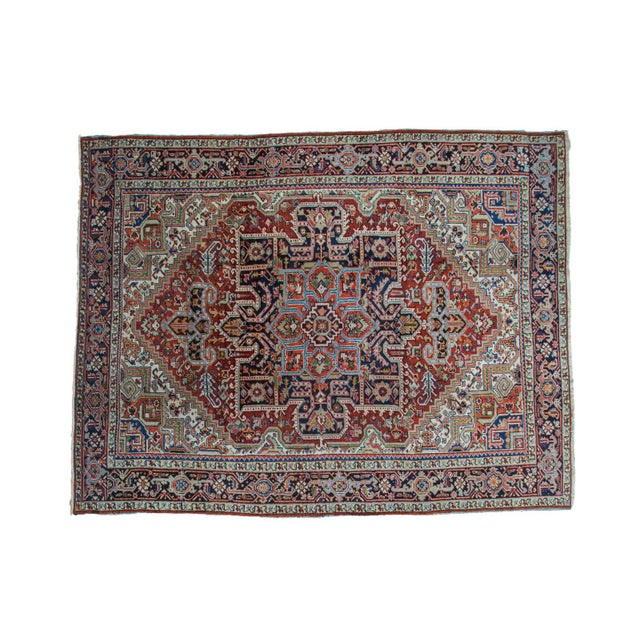"Vintage Heriz Carpet - 8'2"" X 10'4"" - Image 1 of 10"