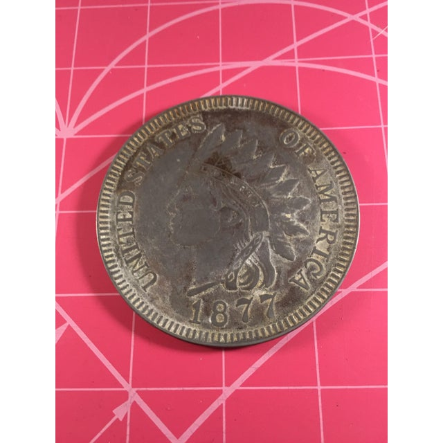 Native American Indian Head Coin - Image 2 of 3