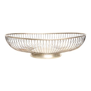 Italian Silver Plated Decorative Bowl