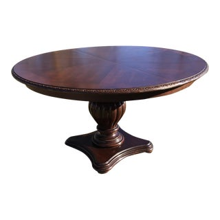 Bernhart Round Wood Dining Table