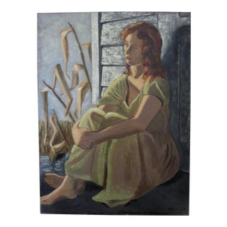 Portrait of a Girl Painting For Sale